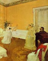 Репетиция песни (Э. Дега, 1872-1873 гг.)