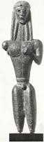 Аполлон из Фив. VII в. до н.э. Бостон. Музей изящных искусств