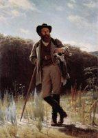 Портрет художника И.И. Шишкина (И.Н. Крамской)