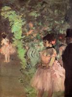 Танцовщицы за кулисами (Э. Дега, 1872 г.)