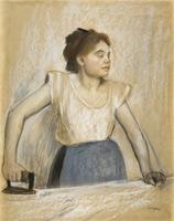 Гладильшица (Э. Дега, 1869 г.)