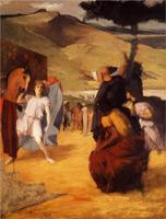Александр и Буцефал (Э. Дега, 1859-1861 гг.)