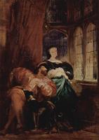 Франциск I и Маргарита Наваррская (Р. Бонингтон)