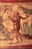 Дедал и Персефона (Фреска в Помпеях)