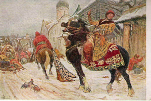 Опричники в Новгороде (М.И. Авилов)
