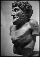Статуя Эзопа в профиль