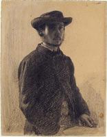 Автопортрет (Э. Дега, ок. 1857 г.)