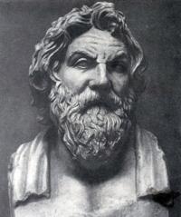 Портрета философа Антисфена (Деметрий из Алопеки, около 375 г. до н.э.)
