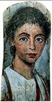 Портрет девушки (Фаюмские портреты. Начало III в.)
