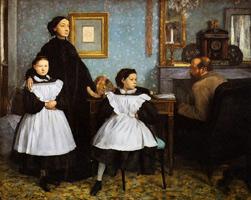 Семья Беллели (Э. Дега, 1858-1869 гг.)