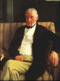 Парадный портрет Рене Илера Дега (Э. Дега, 1857 г.)