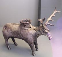 Серебряный ритон в виде оленя. XVI век до н.э.