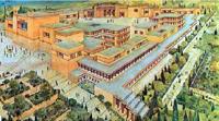 Деревянная модель Кносского дворца. Крит. Ираклионский Археологический музей