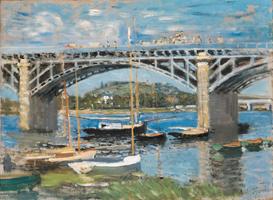 Клод Моне. Мост через Сену в Аржантёе. 1874