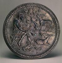 Блюдо с изображением пастуха (Серебро. Византия. 527-565 гг.)
