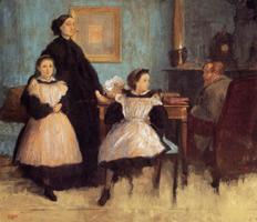 Семья Беллели (Э. Дега, ок. 1858-1862 гг.)