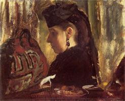 Мадемуазель Мари Дихо (Э. Дега, 1867-1868 гг.)