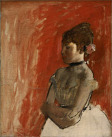 Балерина со скрещенными руками (Э. Дега, ок. 1872 г.)