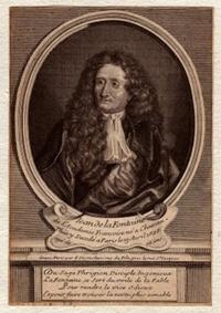 Жан де Лафонтен (гравюра, 1730 г.)