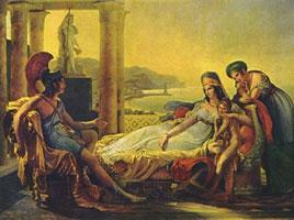 Эней рассказывает Дидоне о падении Трои (П.Н. Гуэрин)