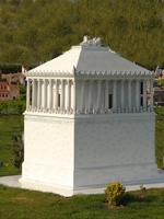 Миниатюрная копия Мавзолея в стамбульском парке Миниатюрок