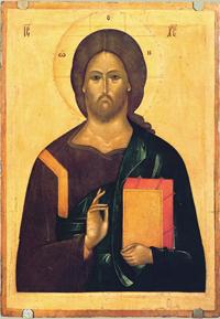Спас (Икона, вторая половина XV в.)