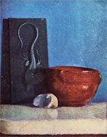 Натюрморт с ящерицей (Э. Дега, 1858-1860 гг.)