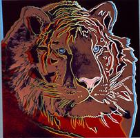 Сибирский тигр (Энди Уорхол, 1983 г.)