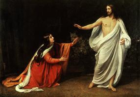 Явление воскресшего Христа Марии Магдалине (А.А. Иванов, 1834 г.)