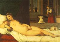 Урбинская Венера.Тициан.1538