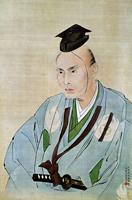 Портрет Таками Сенсеки. Ватанабе Казани
