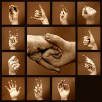 Знаки языка жестов