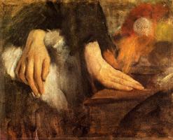 Этюд рук (Э. Дега, 1859-1860 г.)