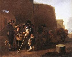 Продавец пирожных (Питер ван Лаар)