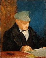 Портрет Рене-Хилера Дега (Э. Дега, 1857 г.)