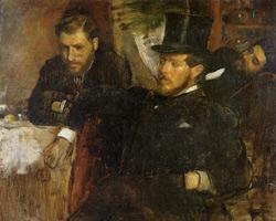 Жантод, Линет, Лайне (Э. Дега, 1871 г.)