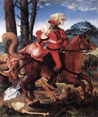 Влюбленные и смерть (Бальдунг Ганс, 1505 г.)