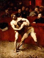 Борцы (Александр Фальгьер, 1875 г.)
