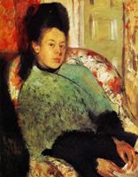 Елена Карафа (Э. Дега, 1873-1874 гг.)