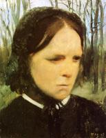 Эстелла Муссон Балфур (Э. Дега, ок. 1865 г.)
