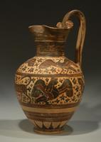 Ойнохоя. Коринф. Ориентализирующий стиль стиль. 580-570 до н.э.