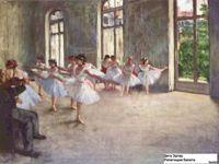 Дега (Degas) Эдгар Репетиция