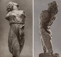 Скопас. Менада (IV в. до н. э. Римская копия. Дрезден. Альбертинум)