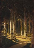 Солнечный свет в парке (А.И. Куинджи)