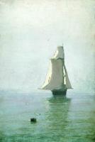 Море с парусным кораблем (А.И. Куинджи)