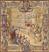 Праздник во Флоренции (Шелкография)