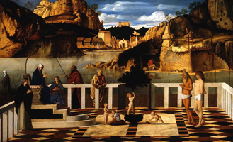 Священная аллегория (Джованни Беллини. 1490)