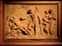 Бахус видит Ариадну, задремавшую на острове Наксос (М.И.Козловский. 1780 г. Третьяковская галерея)