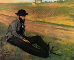 Юджин Мане (Э. Дега, 1874 г.)