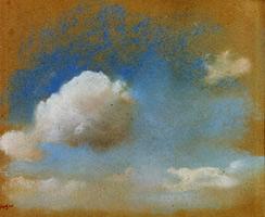 Этюд неба (Э. Дега, ок. 1869 г.)